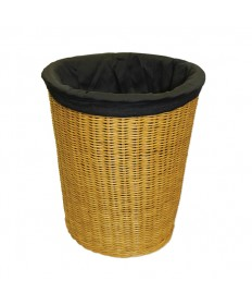 "Round 14"" deep Overflow Collection Basket with Liner"