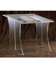 Acrylic Lectern with Table Top - Plain