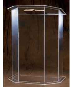 Acrylic Pulpit - Plain