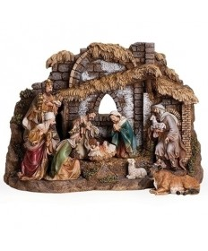 "6"" St Joseph's Studio Nativity Set with Stable"