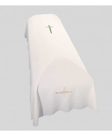 Funeral Pall with Cross Embroidery