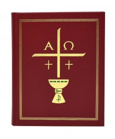"Excerpts from the Roman Missal - 7"" x 9"" Chapel Clothbound Edition"