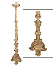 "Excelsis Processional Candlestick 47""H"