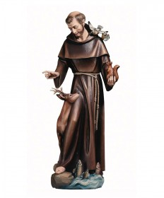 St Francis of Assisi with Animals Statue by Demetz Art Studio