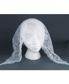Mantilla - White Lace