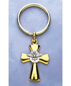 Keychain with Holy Spirit Medallion