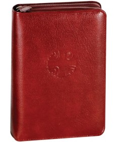 Christian Prayer Regular Edition Leather Zipper Case