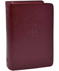 Christian Prayer Large Print Edition Leather Zipper Case