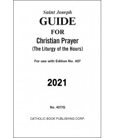 Guide for Christian Prayer 2021 Large Print