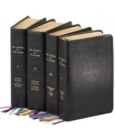 Liturgy Of The Hours Four Volume Set - Bonded leather