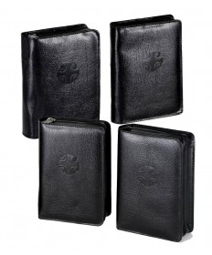 Liturgy of the Hours Black Leather Cases Set of 4
