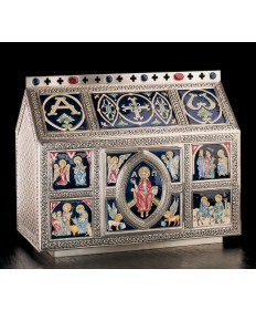 Chest Style Large Tabernacle with Celtic Ornamentation