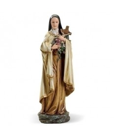 """St Therese 10"""" Statue"""