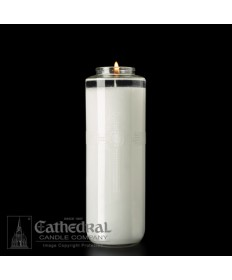 7-8 Day Glass SacraLite Sanctuary Candles