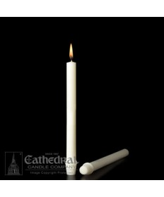 "25/32"" x 10 1/4""  51% Beeswax Candles Self-Fitting End (Medium 6)"