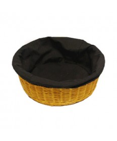 """Round 4"""" deep Collection Basket with Liner"""