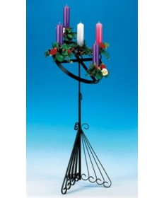 Wrought Iron Advent Candle Holder (Top only)