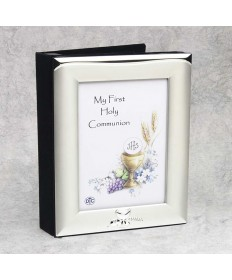 First Communion Photo Album with Frame