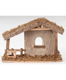 "Fontanini Nativity Stable for 5"" Figures"