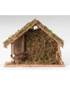 "10"" Stable for 5"" Nativity Figurines"