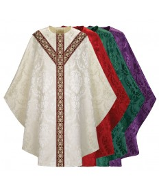 Chasuble by Slabbinck in Rafael Fabric with Woven Band