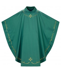Chasuble by Slabbinck in Sarder Fabric - Green