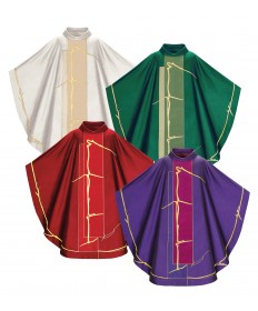 Filo di Luce Chasuble by Slabbinck from Maestro Albano Poli Collection
