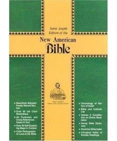 NABRE St Joseph Magnet close Bonded Leather Personal Edition