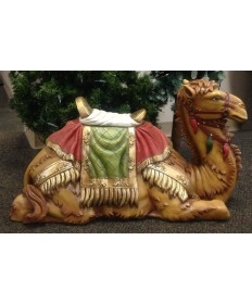 "Fiberglass Resin Camel for 48"" Nativity Set"