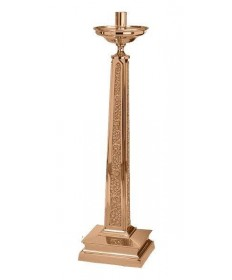 "Excelsis Paschal Candlestick 44""H, 12""x12"" Base"