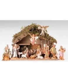 "Fontanini 5"" Nativity Set with Stable"