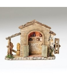 "Fontanini Farmhouse for 5"" Figures"