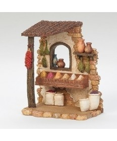 "Fontanini Spice Shop for 5"" Figures"