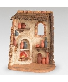 "Fontanini Pottery Shop for 5"" Figures"