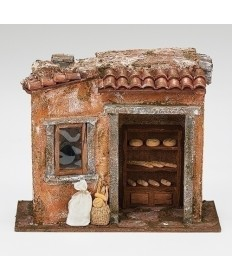 "Fontanini Bakery Shop for 5"" Figures"