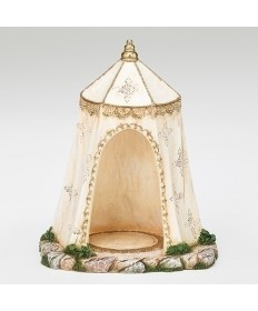 "Fontanini Kings Ivory Tent for 5"" Figures"