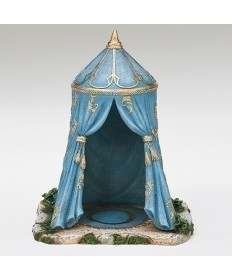 "Fontanini Kings Blue Tent for 5"" Figures"