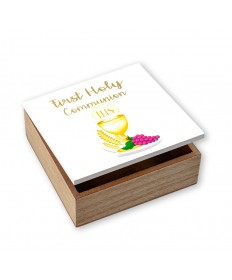 First Communion Keepsake or Rosary Box