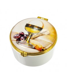 First Communion Keepsake or Rosary Box - Porcelain