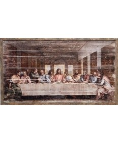 Last Supper Framed Panel