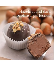 Brigittine Monks Hazelnut Chocolate Truffles Royale