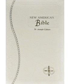 NABRE St Joseph White Medium Size Wedding Edition