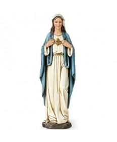 "Immaculate Heart of Mary 9.75"" Statue"