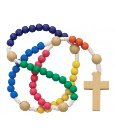 Colorful Non-toxic Kiddee Rosary