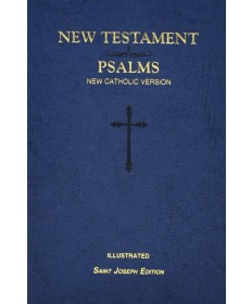 NCV New Testament And Psalms - St Joseph Edition Blue