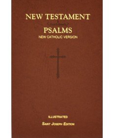 NCV New Testament And Psalms - St Joseph Edition Brown