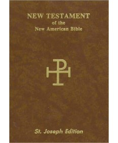 NABRE St Joseph's New Testament Vest Pocket Edition with Flexable Cover