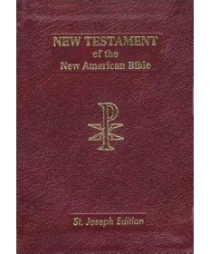 NABRE St Joseph's New Testament Bonded Leather Vest Pocket Edition