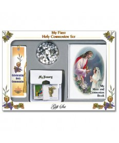 First Communion Missal Set for Girls - Traditional