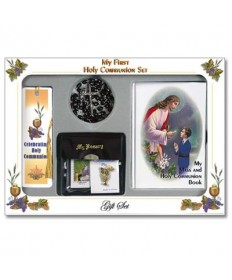 First Communion Missal Set for Boys - Traditional